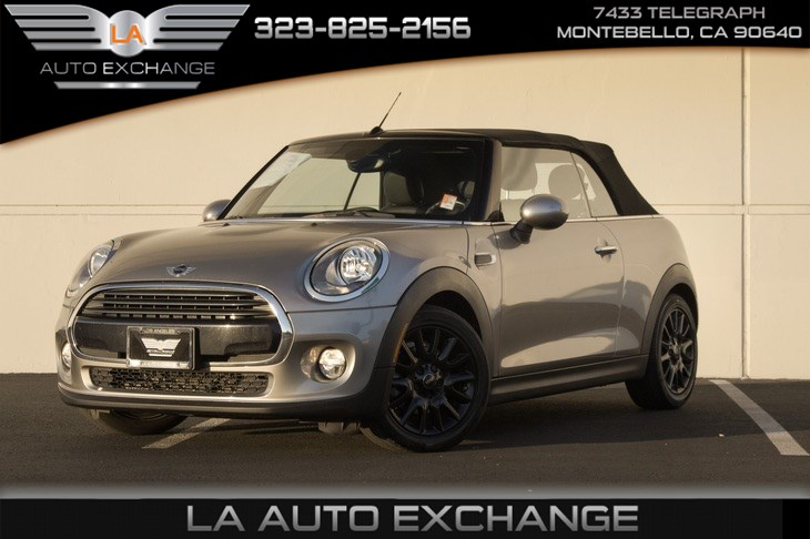 2017 MINI Cooper Convertible (Premium Package & Sports Mode)