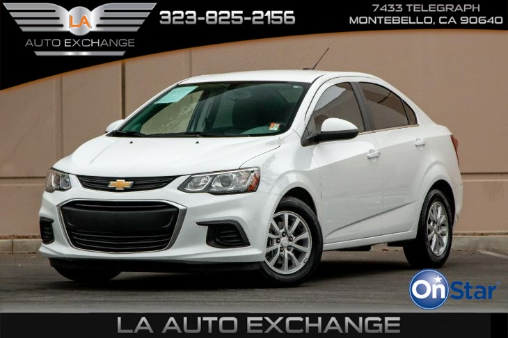 2017 Chevrolet Sonic LT (Back-Up Camera & Bluetooth)