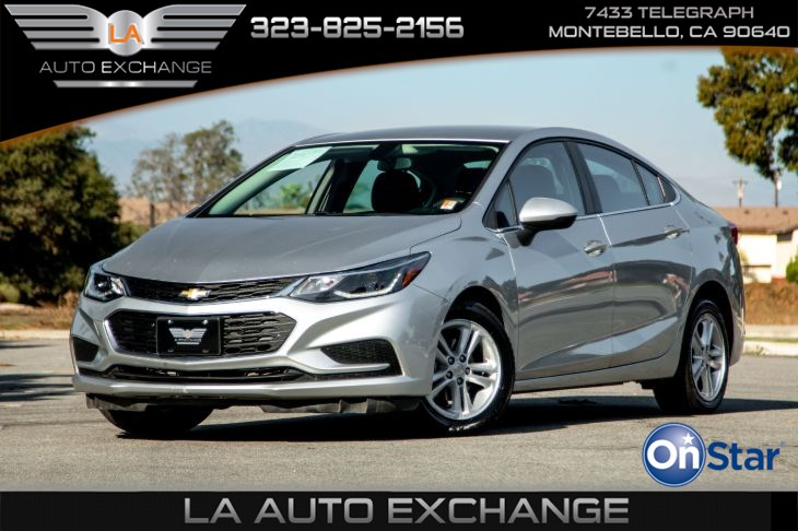 2018 Chevrolet Cruze LT (Heated Front Seats & Back-Up Camera)