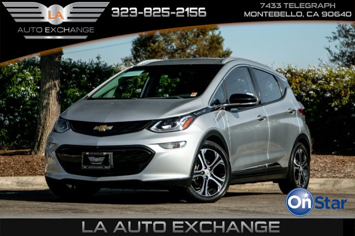 2017 Chevrolet Bolt EV Premier (Heated Front Seats & Back-Up Camera)