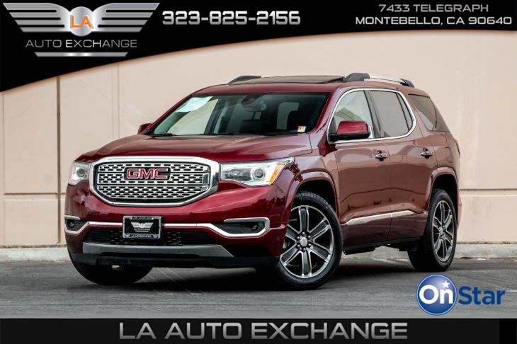2017 GMC Acadia Denali (Technology Package & Sunroof)
