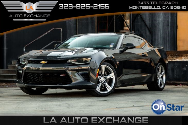 2016 Chevrolet Camaro 2SS (Bose Premium Sound System & Leather Seats)
