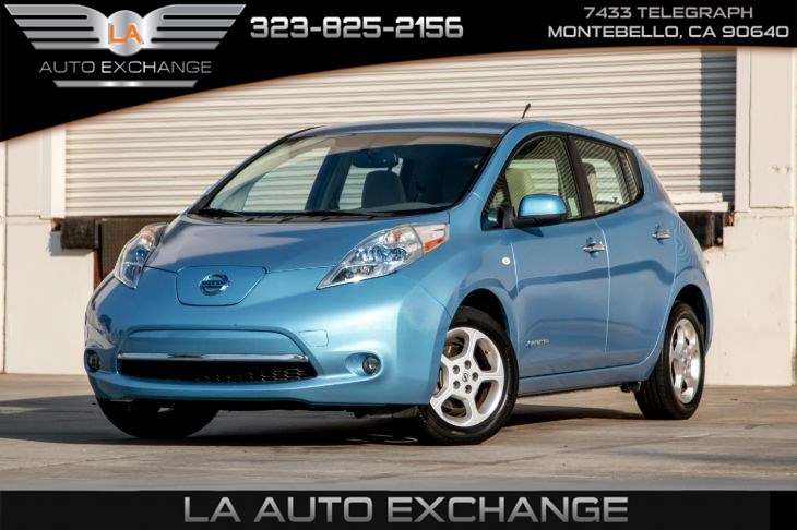 2012 Nissan LEAF SL (Heated Front Seats & Back-Up Camera)
