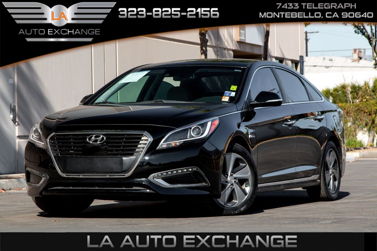 2016 Hyundai Sonata Plug-In Hybrid Limited (Backup Camera & Infinity Sound System)