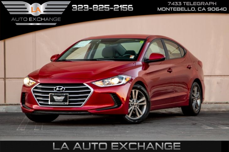 2018 Hyundai Elantra SEL (Back-Up Camera & Bluetooth)