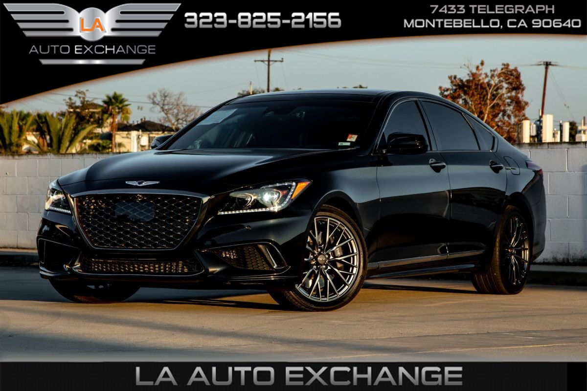 2018 Genesis G80 3.3T Sport (Heated/Cool Seats & Leather Seats)