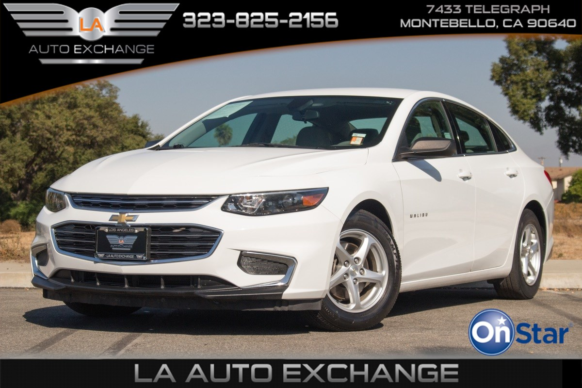 2017 Chevrolet Malibu LS (Backup Camera & PushStart)