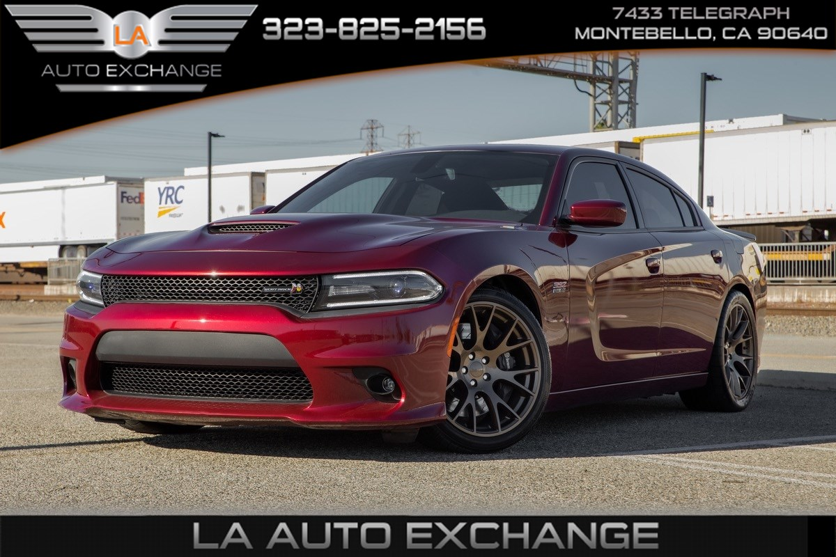 2017 Dodge Charger R/T Scat Pack (Beats Audio & Sunroof )