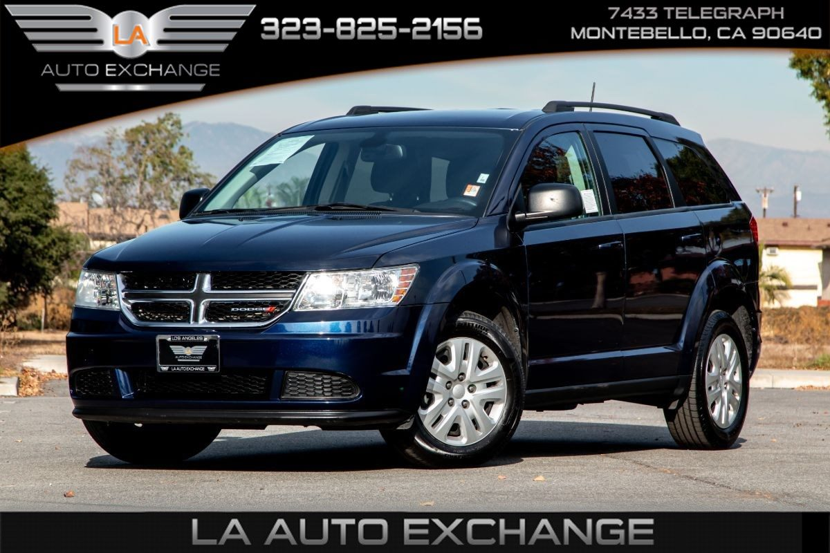 Sold 2018 Dodge Journey Se 3rd Row Seats Bluetooth In Montebello
