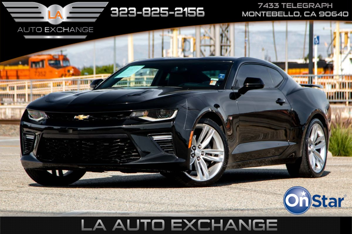 2016 Chevrolet Camaro 2SS (Navigation & Leather Seats)