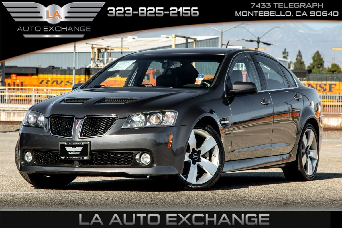 2009 Pontiac G8 GT (Heated Front Seats & Premium Package)