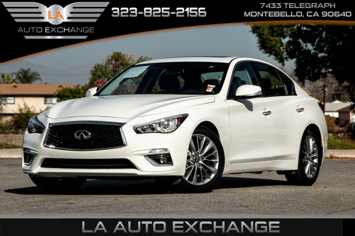 2018 INFINITI Q50 3.0t LUXE (Back-Up Camera & Bluetooth)
