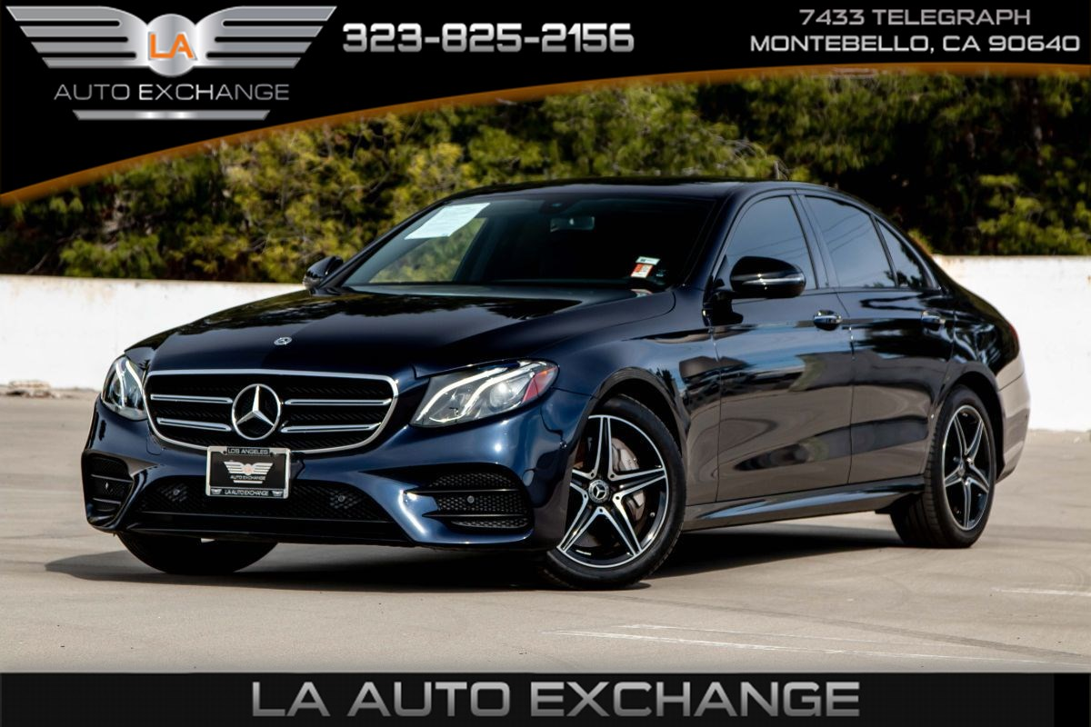 2018 Mercedes-Benz E 300 RWD Sedan (Leather Seats & Premium Package)