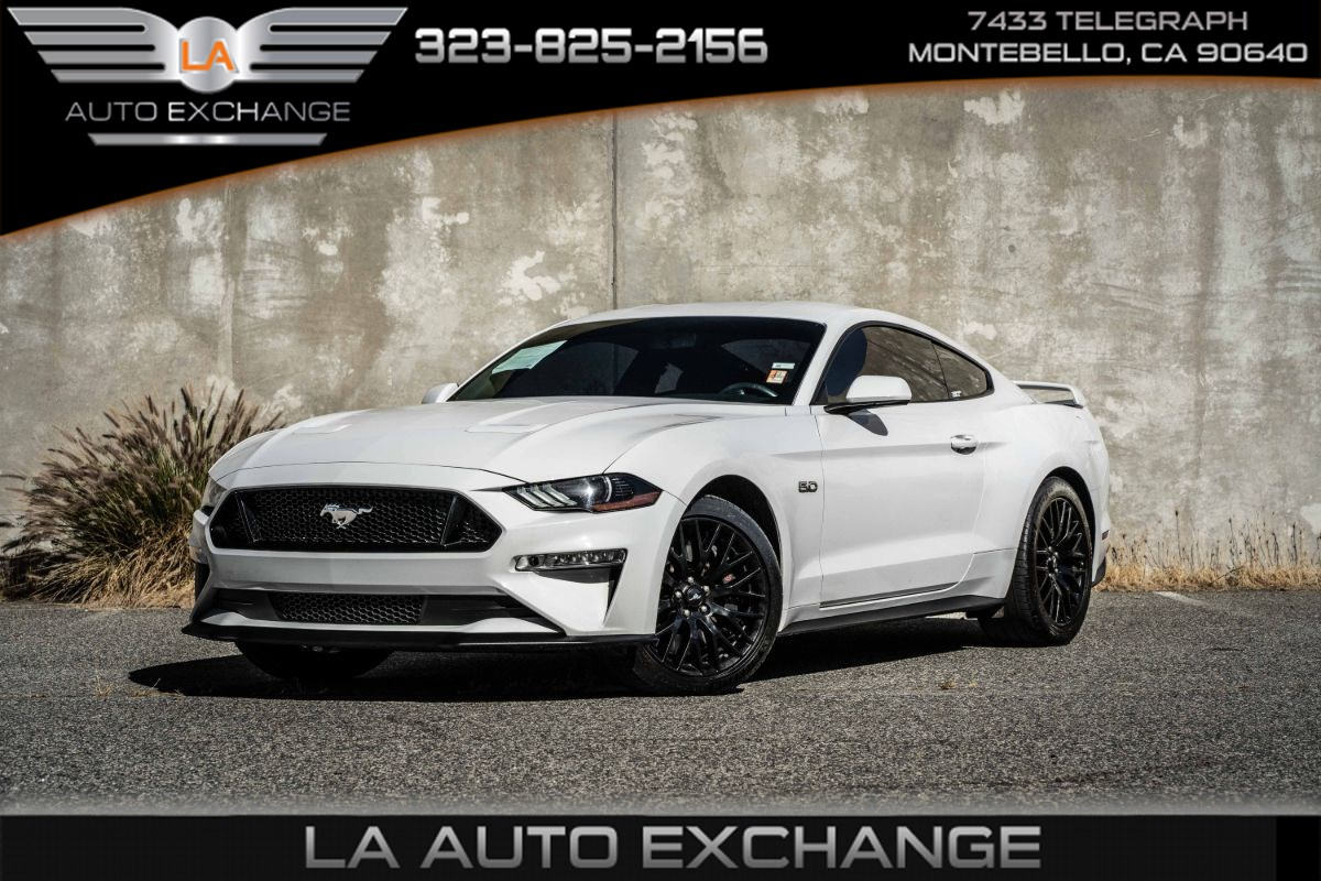 2019 Ford Mustang GT (6-Speed Manual & Bluetooth)
