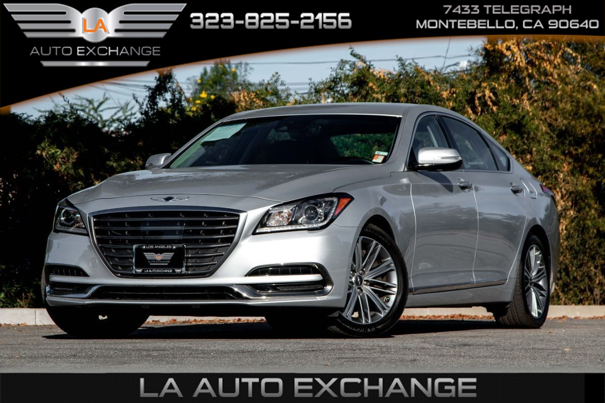2018 Genesis G80 3.8L (Navigation & Heated Front Seats)