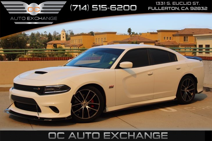 2017 Dodge Charger Rt White >> Sold 2017 Dodge Charger R T Scat Pack In Fullerton