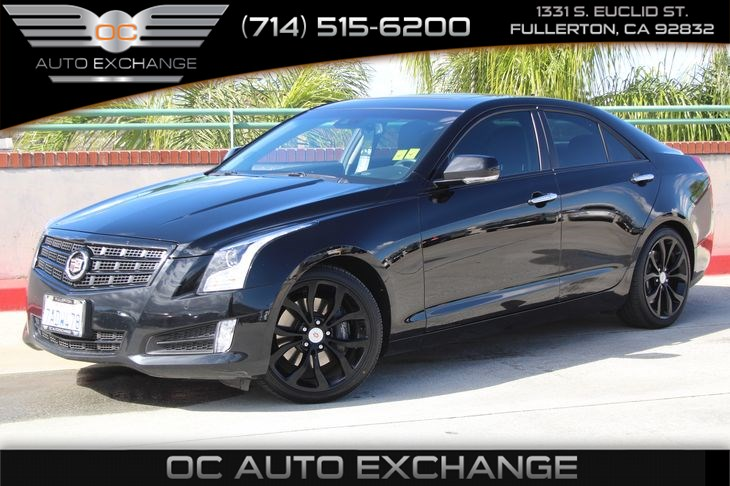 Sold 2013 Cadillac Ats 2 0t Performance In Fullerton