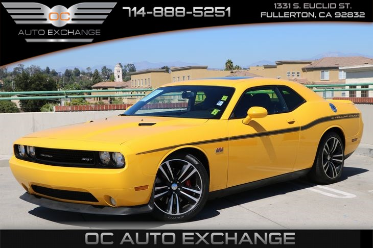 Sold 2012 Dodge Challenger Srt8 Yellow Jacket In Fullerton