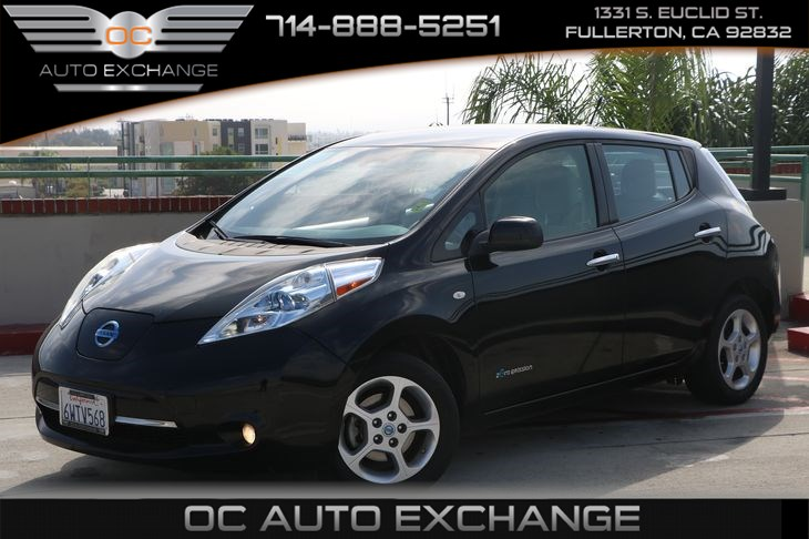Used 2012 Nissan Leaf Sl In Fullerton