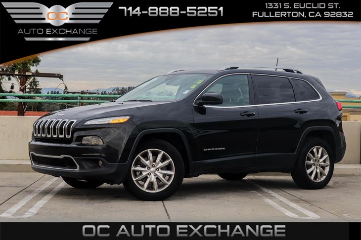 2016 Jeep Cherokee Limited (BLUETOOTH & CRUISE CONTROL)