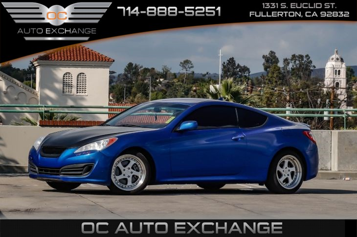 2011 Hyundai Genesis Coupe (Leather Wrapped Steering Wheel, Rearlip Spoiler)