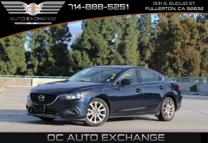 2016 Mazda Mazda6 i Sport (REARVIEW CAMERA & RECLINING FRONT SPORT BUCKET SEATS)