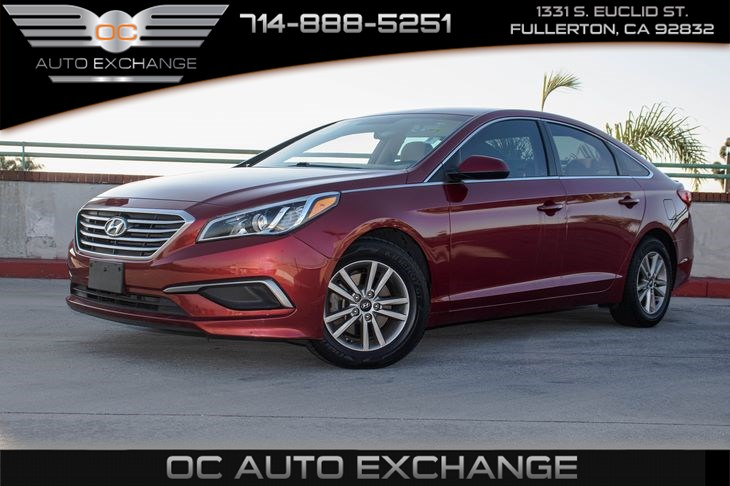 "2016 Hyundai Sonata 2.4L SE (7"" TOUCHSCREEN DISPLAY & REAR SPOILER)"