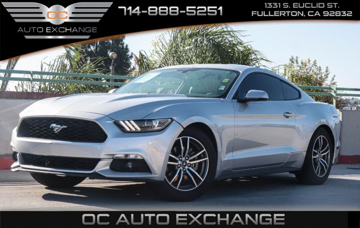 2015 Ford Mustang EcoBoost (BLUETOOTH & SUMMER TIRES)