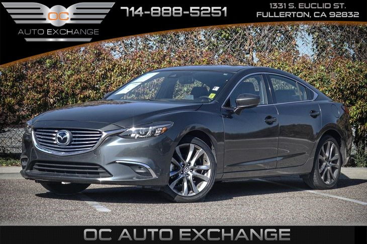 2017 Mazda Mazda6 Grand Touring (GT PREMIUM PKG & A/T SHIFTER AREA LED ACCENT LIGHTING)