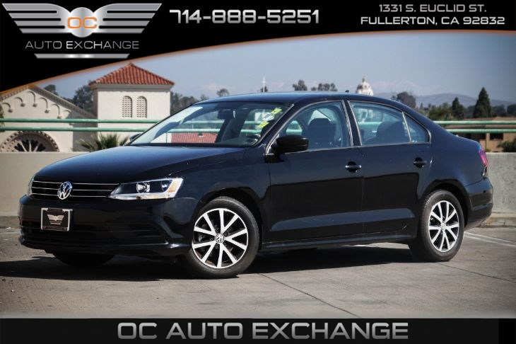 2016 Volkswagen Jetta Sedan 1.4T SE (TURBO DIRECT INJECTION & BACK UP CAMERA)