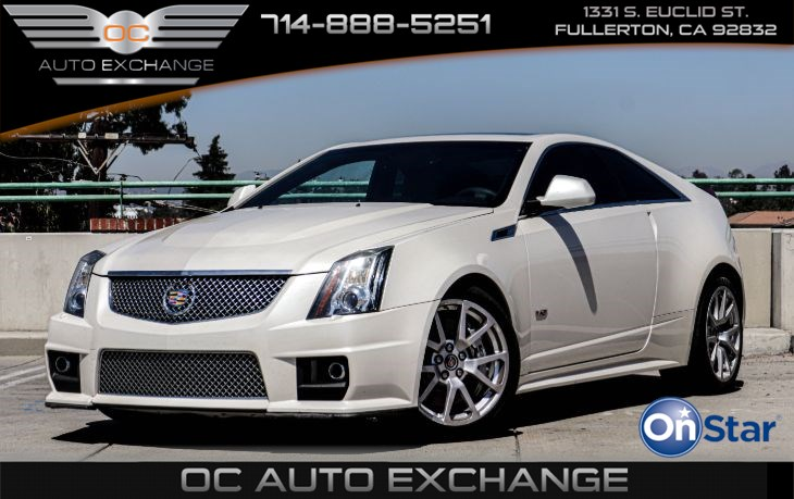 2012 Cadillac CTS-V Coupe 2dr Cpe ( Bose Audio System, Recaro Seats, Wood Trim Pkgs)