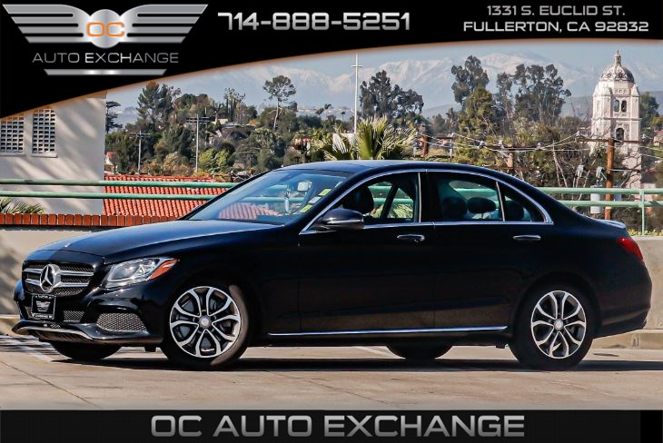 2016 Mercedes-Benz C-Class 4dr Sdn C 300 RWD (Blind Spot Assist & Panorama Roof)