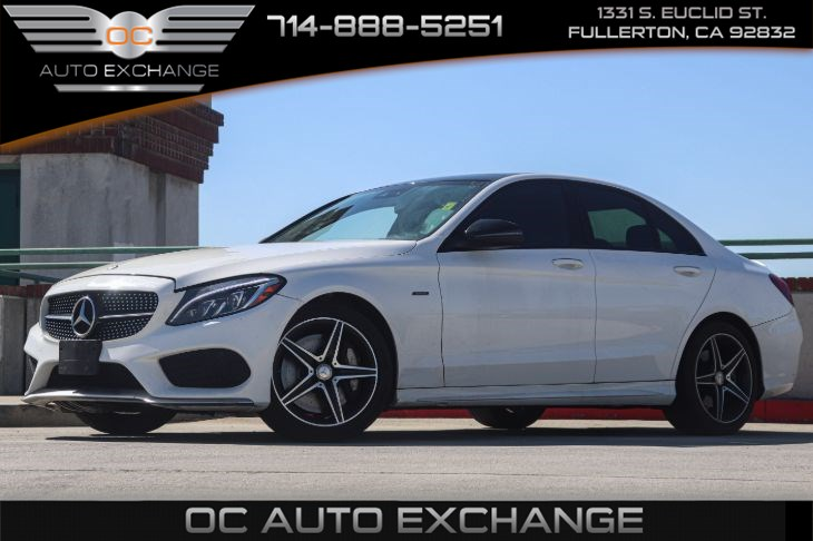 2016 Mercedes-Benz C 450 AMG (PANORAMA SUNROOF & DYNAMIC LIGHTING PKG)