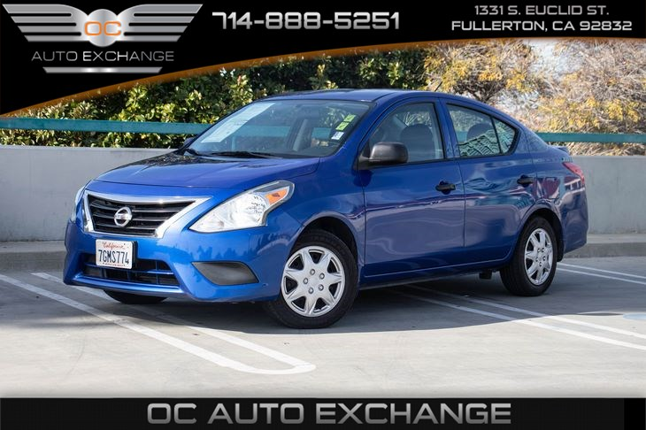2015 Nissan Versa S Plus(AIR CONDITIONING & CRUISE CONTROL)