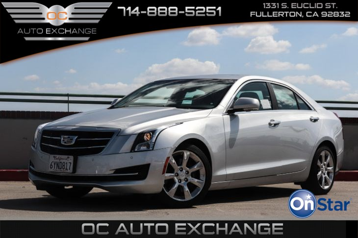 2015 Cadillac ATS Sedan Luxury RWD (Cold Weather, Navi, Sun & Sound Pkg)