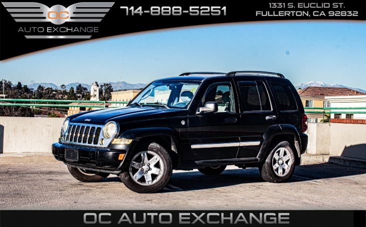 2005 Jeep Liberty 4dr 4wd Limited (G Limited Edition PKG)