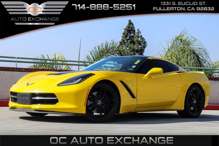 2014 Chevrolet Corvette Stingray Z51 3LT Cpe (Competition Sport Bucket Seats PKG)