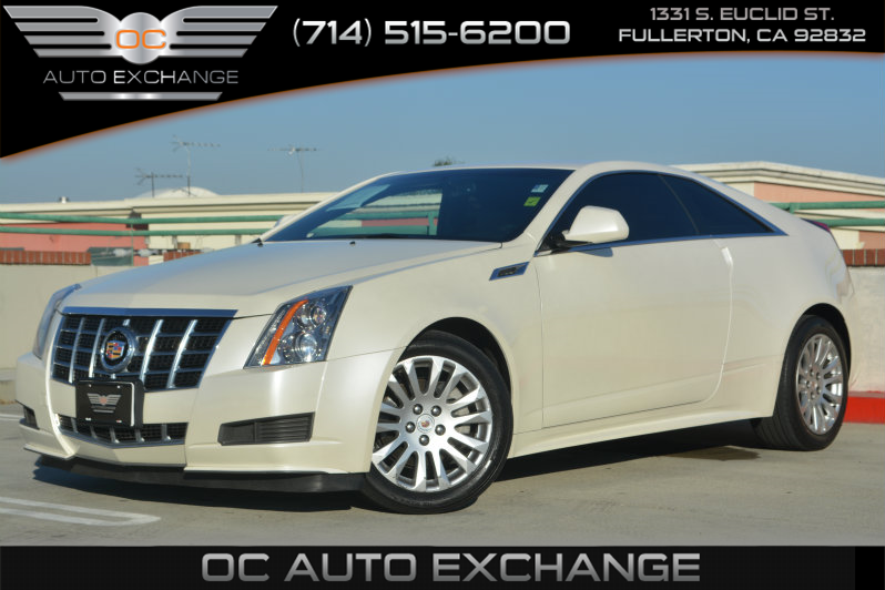 Sold 2013 Cadillac Cts Coupe In Fullerton