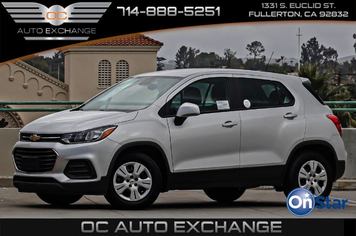 2017 Chevrolet Trax FWD 4dr LS (Rear Vision Camera, Steering Wheel Controls)