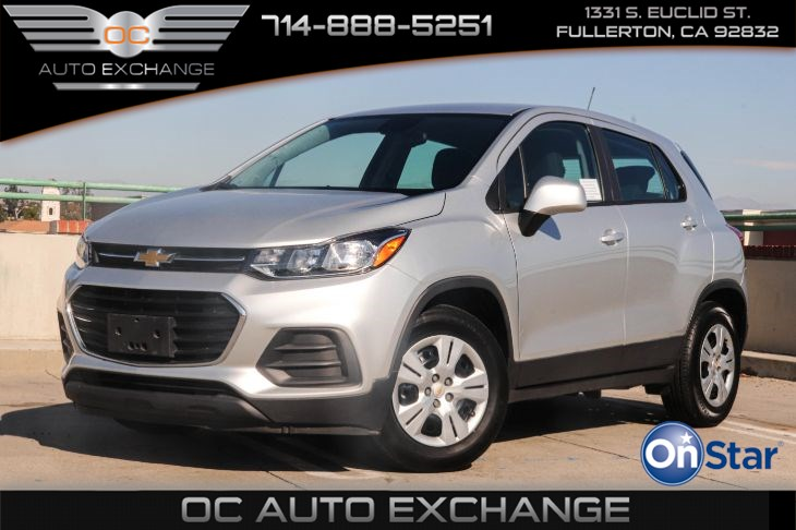 2017 Chevrolet Trax FWD 4dr LS (Bluetooth, Back Up Cam & Theft-Deterrent Syst)