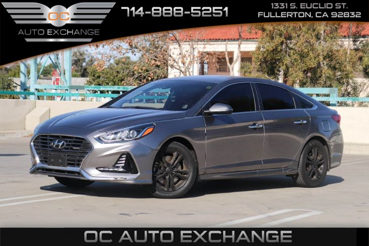 2018 Hyundai Sonata SEL (TECH PKG & ENGINE-PUSH-TO-START)