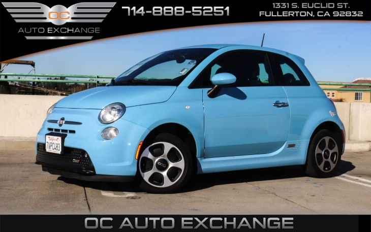 2017 FIAT 500e (BLUETOOTH & CRUISE CONTROL)