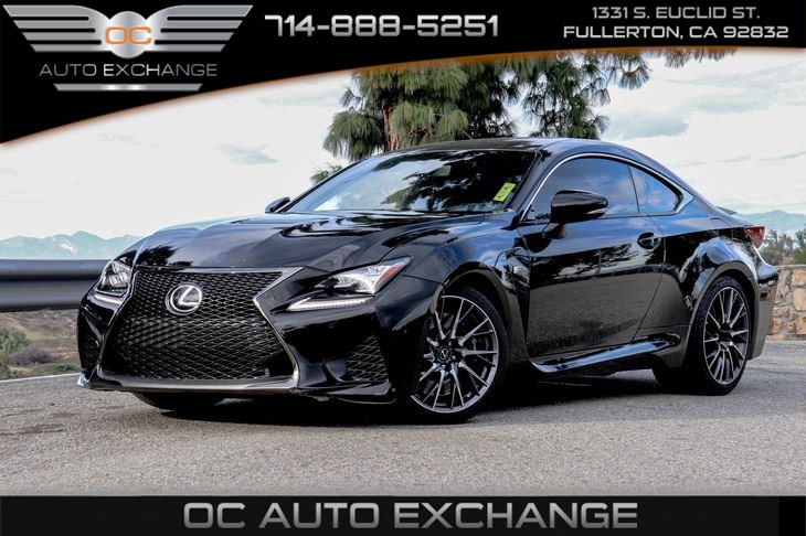 2015 Lexus RC F 2dr Cpe Performance Package RWD