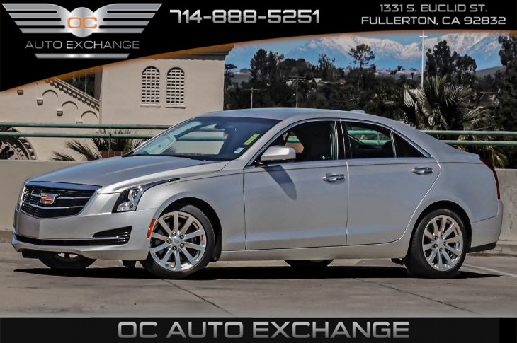 2017 Cadillac ATS 4dr Sedan RWD (Automatic Stop/Start & Rearvision Camera)