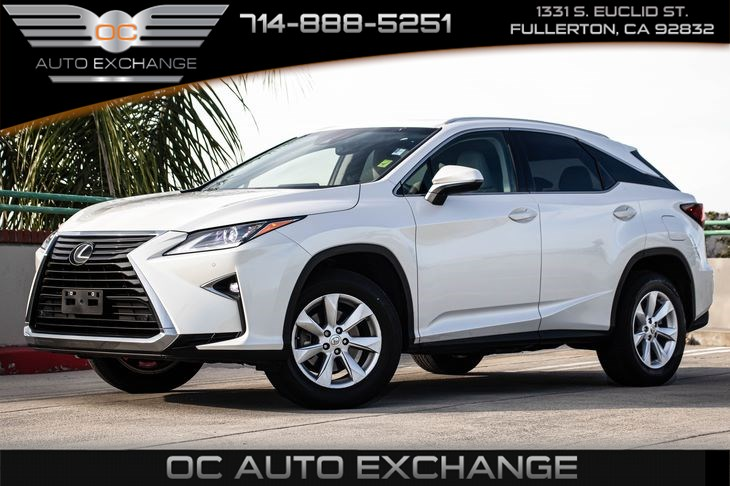 2017 Lexus RX RX 350 (EXPRESSO WALNUT INTERIOR TRIM & MOONROOF)