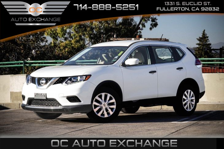 2016 Nissan Rogue S FWD 4dr (Rearview Camera & Bluetooth)