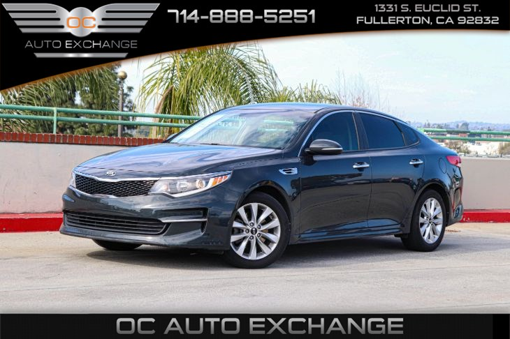 "2016 Kia Optima LX (BLUETOOTH & 17"" ALLOY WHEELS)"