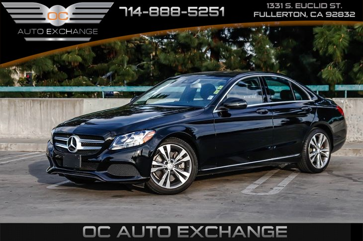 2016 Mercedes-Benz C-Class C 300 RWD (Pano Sunroof, Blind Spot Assist, Rearview Camera)