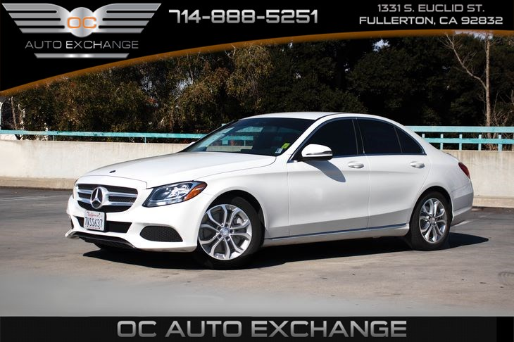 2017 Mercedes-Benz C-CLASS C 300 Sdn (Linden Wood Trim, Bluetooth & Rearview Camera)
