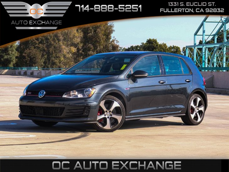 2016 Volkswagen Golf GTI SE (PERFORMANCE PKG & SUNROOF)